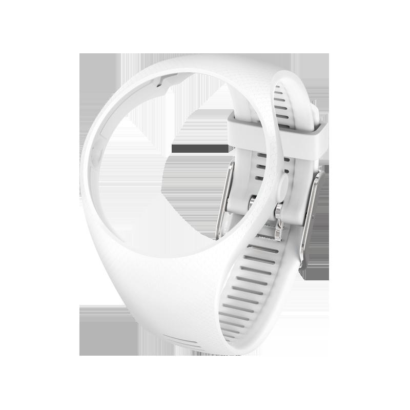 Correa Polar M200 White, Talla S/M