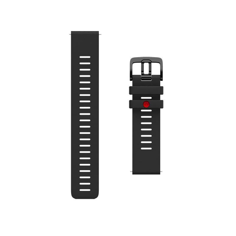 Correa Polar GRIT X, silicona negra, talla M/L